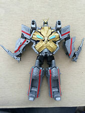 Power rangers Megaforce DX megazord space ship to huge robot with weapons