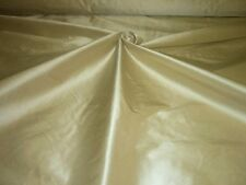 "Pure Silk Dupion `Dreams` 54""Wide Champagne Beige cut from roll half metre price"