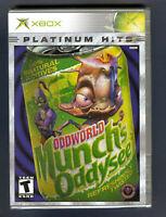 ODDWORLD: Munch's Oddysee Platinum Hits XBOX NEW ! Factory Sealed ! 🔥