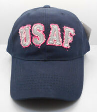 Womana Distressed U.S. Air Force Military Cotton Ball Cap Hat New H12