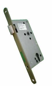 ABUS Tür-Einsteckschloss Profilzylinder  THZ90 hammerschlag-gold für DIN-links