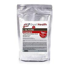 Pure L-Glycine 1000g (2.2lb) Powder Pharmaceutical Grade Brain Muscle Amino Acid