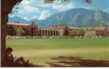 Postcard University of Colorado at Boulder, Dormitory Area, circa 1970s