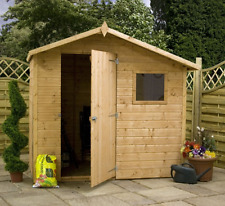 Mercia 7x5 Offset Apex Shed Shed