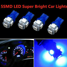 4x Super Blue T10 5-SMD LED Backup Reverse Side Light Bulbs W5W 194 192 921