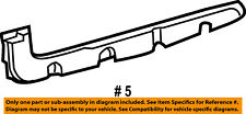 55079112AD Chrysler Bracket rear bumper 55079112AD