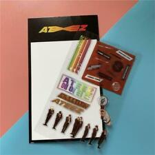 1 Sheet Kpop Ateez PVC Photo Stickers for Luggage Mobile Journal Diy Sticker