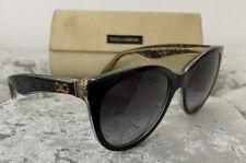 Authentic Dolce&Gabbana Black DG4192 Sunglasses