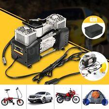 12V 150PSI Double Cylinder Air Compressor Pump Auto Car Inflator Portable Kit
