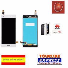 PANTALLA COMPLETA LCD DISPLAY + TACTIL PARA HUAWEI ASCEND P8 LITE COLOR BLANCO