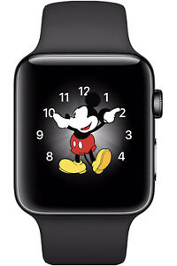 Apple Watch Series 2 42mm Stainless Steel Black Smat Watch - (MP4A2LL/A)