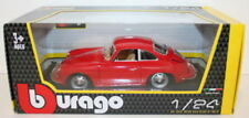 Voitures, camions et fourgons miniatures rouges Coupe pour Porsche