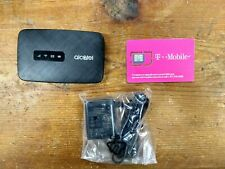 Alcatel MW41TM Linkzone  4G LTE GSM T-mobile WiFi Hotspot - Black