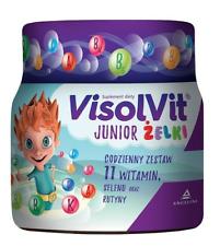 Visolvit Junior Żelki Jelly Beans Children 3+ 11 Vitamins Selenium Routine 250g