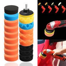 19Pcs 3 inch 80mm Sponge Buff Buffing Polishing Pad Kit Set For Car SUV Polisher