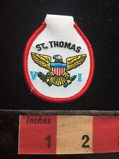 St. Thomas Virgin Islands Souvenir Patch (top made so can use as keychain) 71I2
