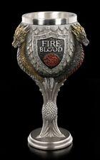 Game of Thrones Kelch - Haus Targaryen - Weinkelch Trinkbecher Fanartikel