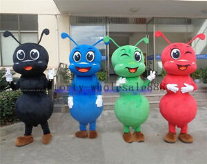 Halloween Ants Mascot Costume Suits Outfits Cosplay Party Game Adults Dress US