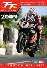 Isle of Man TT - Official Review 2009 (New DVD) McGuinness Martin