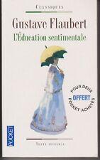 GUSTAVE FLAUBERT L'EDUCATION SENTIMENTALE POCKET CLASSIQUES PORT A PRIX COÛTANT