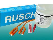 10 Ballonkatheter Absaug Blasen-Katheter CH30/10,0mm Rüsch Gold +steriles Wasser