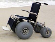 NEW DeBug All Terrain Chair Rolling Beach Stainless Steel Wheelchair
