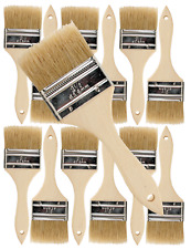 12 Pk- 2.5 inch Chip Paint Brushes for Paint, Stains,Varnishes,Glues,Gesso