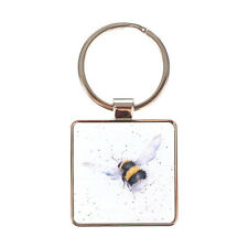 Wrendale Flight of the Bumble Bee Country Set Keyring