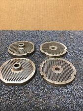 32 Meat Grinder 4 Piece Plate Lot Used
