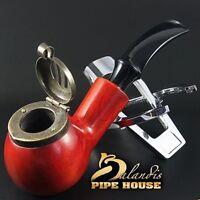 Outstanding Mr.Balandis original Hand made smoking pipe KAISER 25 smooth TEAK