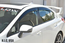 HIC USA 2015 to 2017 Impreza WRX STI 4dr sedan window visor vent shade deflector