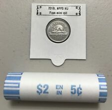 CANADA 2018 New 5 cents ORIGINAL BEAVER Circulation coin (UNC From mint roll)