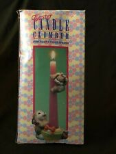 Giftco Easter Candle Climber Porcelain Holder Handcrafted Hand Painted Nib