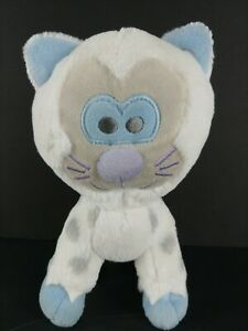 "DISNEY WORLD Parks 8"" Plush CAT White EXPEDITION EVEREST Snow Leopard Yeti Toy"