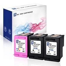 Combo Packs 61 XL Black & Color Ink For HP Deskjet 1000 2547 2548 2549 3000