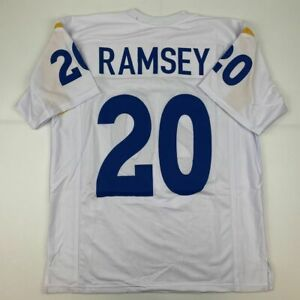 New JALEN RAMSEY Los Angeles White Custom Stitched Football Jersey Size Men's XL
