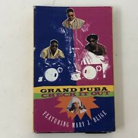 Grand Puba Check It Out Cassette Tape Single Rare Mary J Blige 1992 Rap D2B