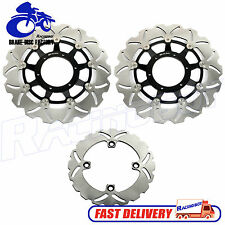 Set For Honda CBR600 RR Front Rear Brake Disc Rotor CBR600RR 2003-2008 2009-2019