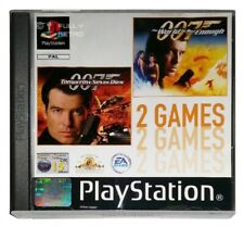 007: TOMORROW NEVER DIES + THE WORLD IS NOT ENOUGH (PS1 Game) Playstation B