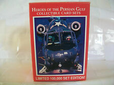 DESERT STORM HEROES OF THE PERSIAN GULF Complete Boxed Card Set LIME ROCK 1991