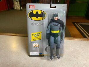 "2020 Mego DC Comics Super Heroes Mego BATMAN 8"" Action Figure MOC"