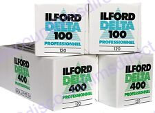 ILFORD DELTA 100 & 400 ROLL 4 FILM STARTER PACK B&W FILM -1st CLASS POST