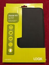 "Logik Samsung Galaxy Tab 3 10.1"" Starter Kit inc. Folio Case, Screen Protector"