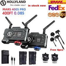 DHL Hollyland Mars 400S Pro 400ft 1080p HDMI SDI 5G Wireless Transmission System