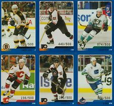 BLUE /500 SP CARD LOT 2003-04 TOPPS TRADED ROOKIES KANE ZINOVJEV RC KING MARKOV