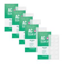 [Etude House] Ac Clean Up Spot Patch 12patches / 1 Sheet * 5 Pcs WholeSale