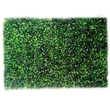1x Artificial Ivy Leaf Hedge Mat Fence Fake Plant Grass Wall Outdoor Panels New