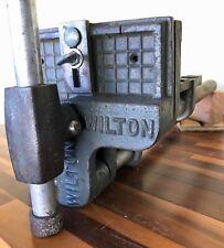 Vintage WILTON Corner Angle Bench Vise, 7'',  Pattern Makers model 161072-10