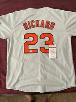 Joey Rickard Baltimore Orioles Signed Autographed Jersey JSA