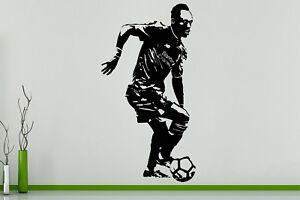 Sadio Mane Seneglese Senegal Football Player Decal Wall Sticker Picture